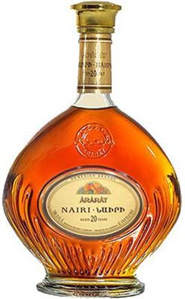 Nairi Armenian Brandy 20 Year Old 82@